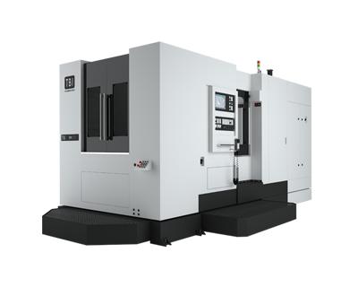Horizontal milling centers